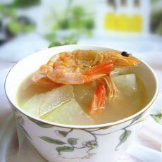 虾干冬瓜汤的做法