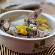 羊排萝卜汤的做法