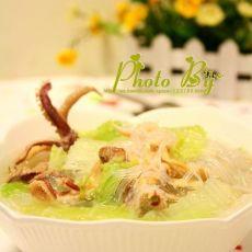 粉丝大白菜汤的做法