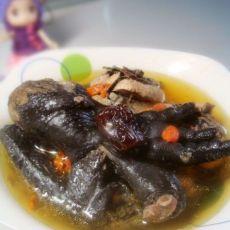 枸杞红枣乌鸡汤的做法