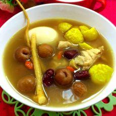 桂圆板栗鸡汤