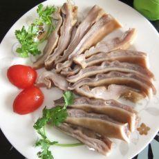 姜葱焖猪肚的做法