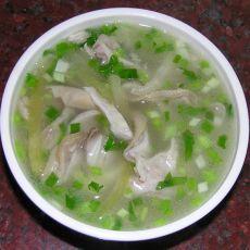 咸菜猪肚汤的做法