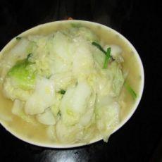 清炒大白菜的做法
