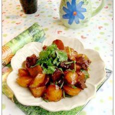 红烧土豆丸的做法