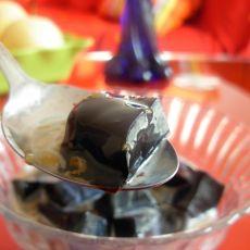 糖桂花炼乳龟苓膏的做法