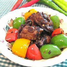 蒜茸豆豉爆排骨的做法