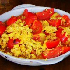 番茄炒鸡蛋的做法