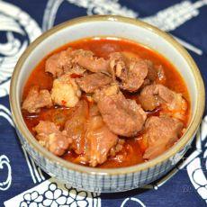 红烧牛肉浇头的做法