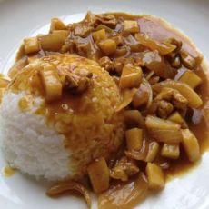 简易咖喱米饭的做法