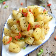 孜然土豆块的做法