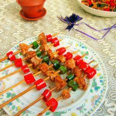 辣椒猪肉串