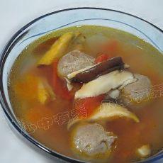 茄汁牛肉丸汤