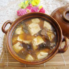 海带豆腐煲的做法
