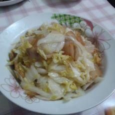 腊肉炒大白菜的做法