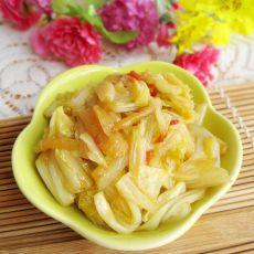 姜丝炒大白菜的做法