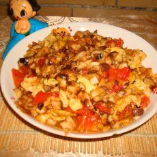 香菇番茄炒蛋的做法